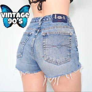 Vintage 90's L.E.I. Cutoff Shorts